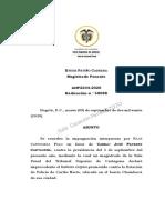 Legalidad Captura Condena, No Termino Perentorio 36 Horas. Ahp 2234 de 09-09-2020 Rdo 58088