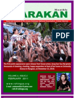 Arakan Journal, February 2011