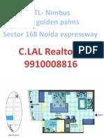 golden palm sector 168 - 9910008816 iitl nimbus group noida