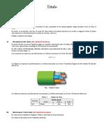 Formato de presentación del Trabajo