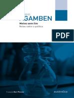 Meios Sem Fim Notas Sobre a Política by Agamben, GiorgioPessoa, Davi(Tradutor) (Z-lib.org).Mobi