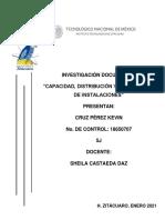 """CAPACIDAD, DISTRIBUCIÓN Y LOCALIZACIÓN DE INSTALACIONES"""""""