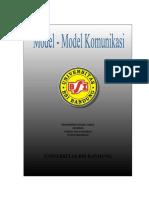 Model - model Komunikasi