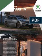 Skoda Enyaq IV Catalogo