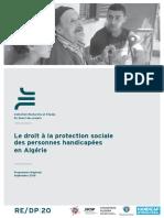 Le Droit a La Protection Sociale Des Per