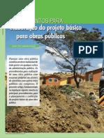 Elaboração do Projeto Básico para Obras Públicas