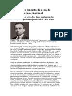 no - Vygotsky e o conceito de zona de desenvolvimento proximal