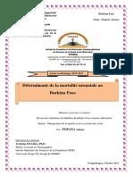 20 FOFANA Déterminants de La Mortalité Néonatale Au Burkina