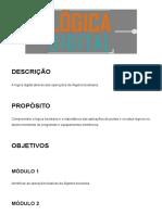 4 - Lógica Digital