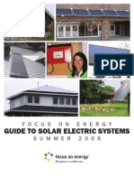 Wisconsin Solar energy guide