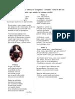 Actividades de poesía siglos XVI y XVII