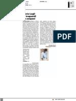 Mario Logli e i traguardi sospesi - Il Resto del Carlino del 17 settembre 2021
