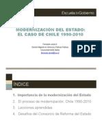 Proyecto Reforma Estructural del Estado Paraguayo (Modernizacion Del Estado_F Larrain)  Abril 2011