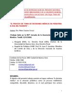 María Susana Ciruzzi - Proceso en La Toma de Decisiones en Pediatria