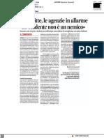 Case sfitte, agenzie in allarme - Il Corriere Adriatico del 19 settembre 2021