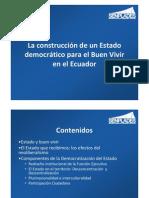 Presentación Democratización del Estado para Paraguay (Reforma Estructural del Estado Paraguayo)  Abril 2011