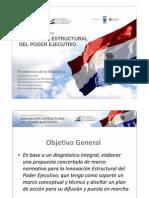 Proyecto Reforma Estructural del Estado Paraguayo (Presentación Ministra Lilian Soto) Abril 2011