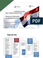 Propuesta Contenidos Anteproyecto Proyecto Reforma Estructural del Estado (Abril 2011)