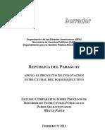 Proyecto Reforma Estructural del Estado Paraguayo (Abril 2011)