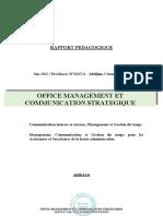 Dfg_2_rapport Pedagogique_office Management Et Communication