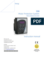 339man-a1 motor protection system