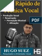 E Book Guia Rapido de Tecnica Vocal