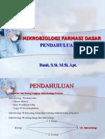 kuliah mikrobiologi dasar