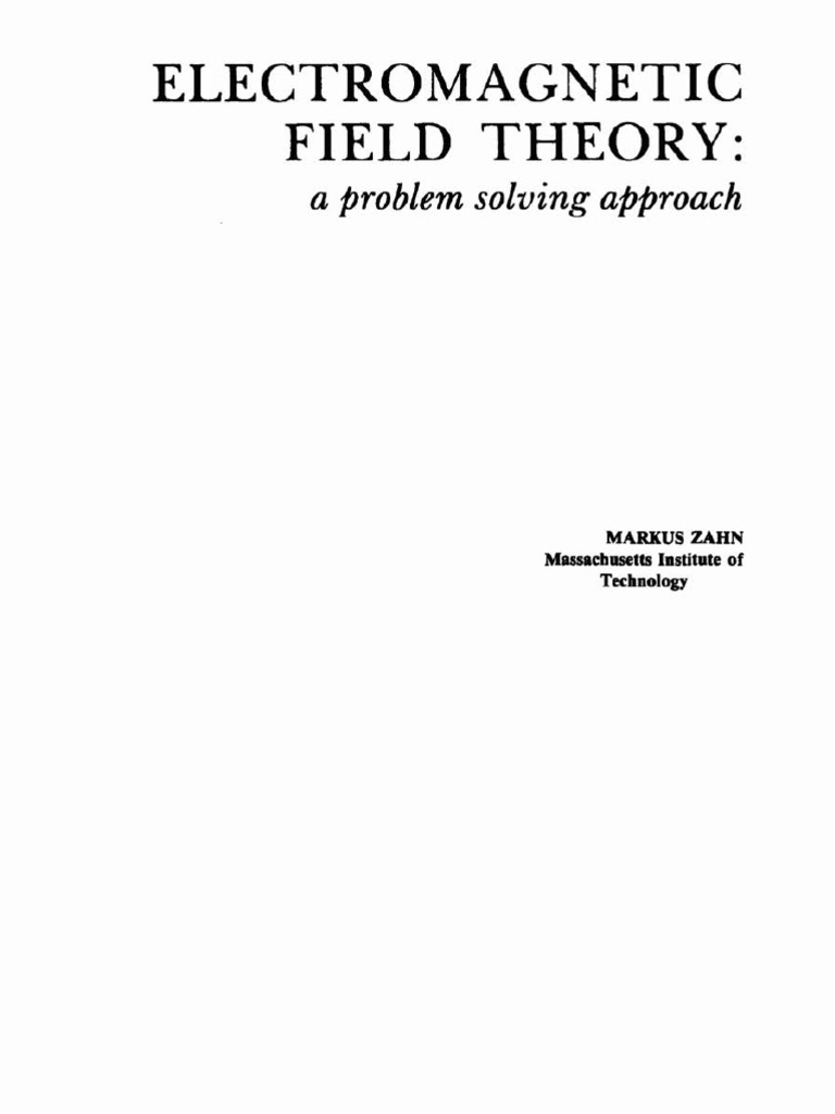 Zahn_Electromagnetic_Field_Theory_-_A_Problem_Solving_Approach__Wiley_ |  Flux | Cartesian Coordinate System