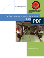 Performance Measurment of Ramp Door Manufacturing of M113 Armoured Personel Carrier
