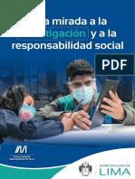 Libro Una Mirada a La Investigación y a La Responsabilidad Social 2021 MML