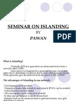 Islanding Seminar