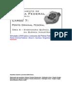 Simulado LXVIII - PCF Área 6 - PF - CESPE