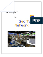 project on geo tv network