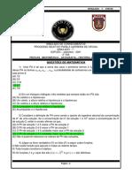 7° SIMULADO DE CONHECIMENTOS- ESPCEX- 2021-SETEMBRO- 2° DIA