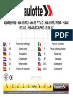 4000509190 - Manual de Piezas de Recambio - Ha16rtj _ Ha46rtj,Ha16rtjo _ Ha46rtjo,Ha16rtjpro _ Ha46rtjpro - Junio 2017 - Francés,Inglés (1)