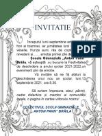 Invitatie Isj