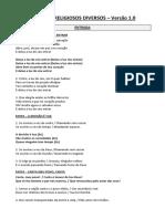 Cânticos Religiosos Diversos - Versão 1.0