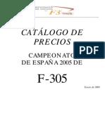 Catalogo F305