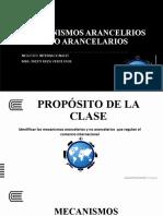 MECANISMOS ARANCELARIOS Y NO ARANCELARIOS