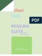 Mihail. PERSIAN SUITE