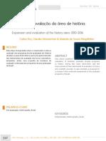 Avaliaçao Da Area de Historia 2010 a 2016 CARLOS FICO