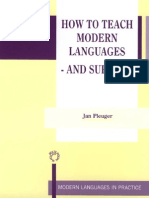 How to Teach Modern Language and Survive