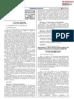 DECRETO SUPREMO N° 011-2021-MINCETUR