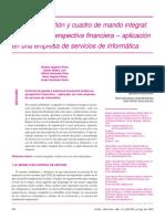Analisis Persp Financiera e Indicadores