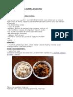 Recette Galettes veggie de tofu lentilles et carottes
