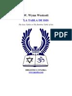 Wynn Westcott - La tabla de Isis