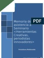 Herramientas creativas, periodistas innovadores