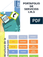Portafolio de Servicios IMS 31 08 07
