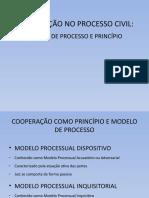 COOPERAÇÃO NO PROCESSO CIVIL -lma