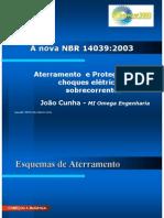 NORMA 14039 ATERRAMENTO